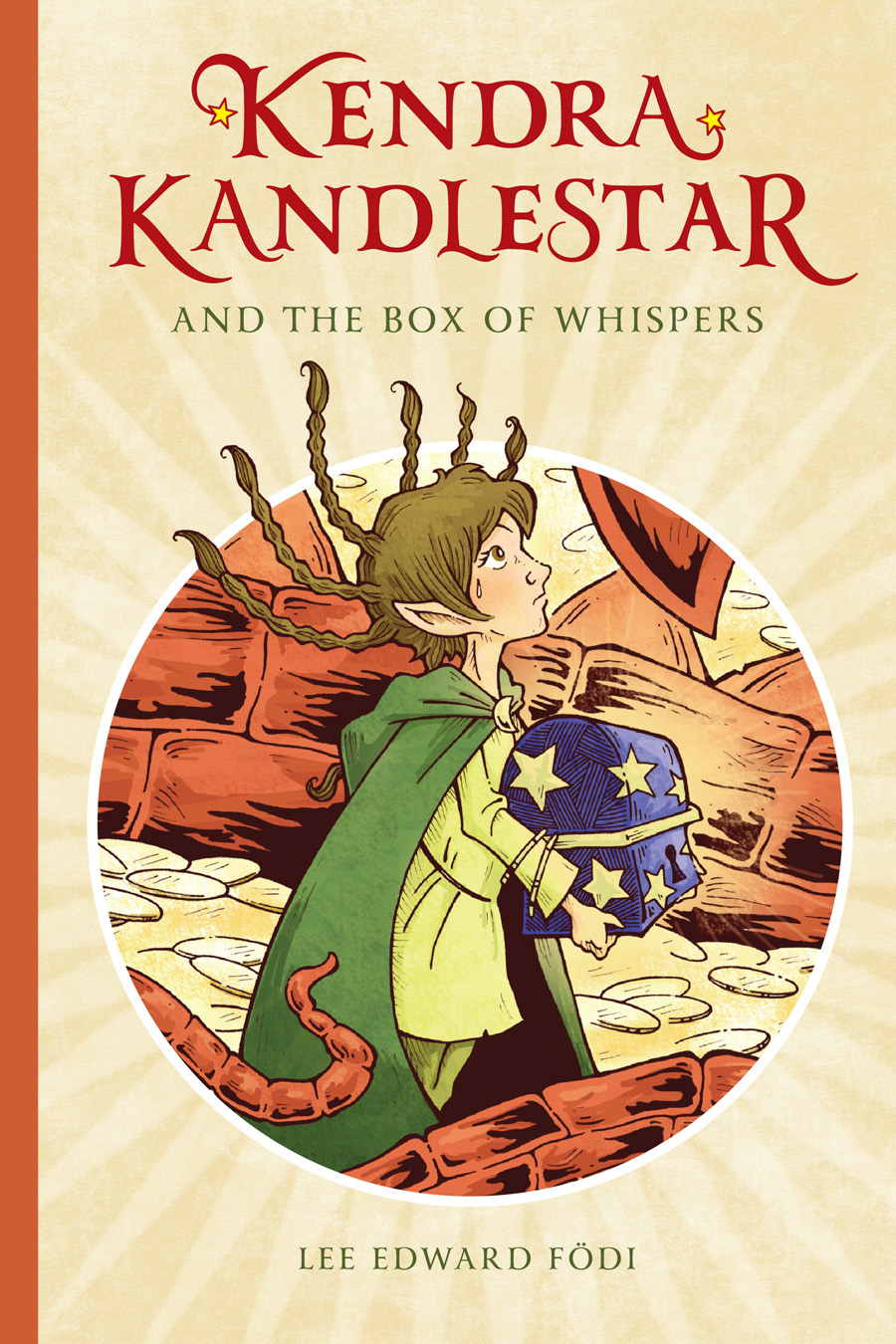 Kendra Kandlestar and the Box of Whispers.